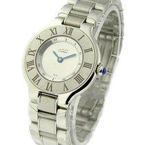 Cartier W10109T2 Must 21- Small Size - Steel on Bracelet