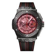 Hublot Big Bang 45mm Ferrari Red Magic Carbon Mens Watch Ref...