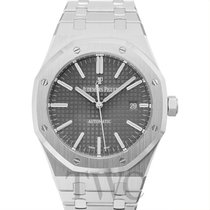 オーデマ・ピゲ (Audemars Piguet) Royal Oak Selfwinding Grey Steel...