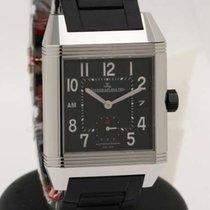 Jaeger-LeCoultre Reverso Squadra GMT Hometime  black dial -...