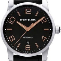 Montblanc Men's Timewalker 101551 Automatic Rose Gold Leather...