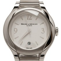 Baume & Mercier Silver Stainless Steel Ilea M0A08767 Watch
