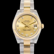Rolex Lady-Datejust Oro amarillo 31mm Champán