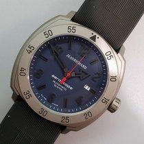 尚维沙 Aeroscope 鈦 46mm 藍色 阿拉伯數字