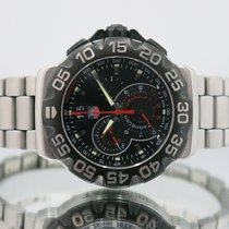 TAG Heuer Chronograph 44mm Quartz pre-owned Formula 1 Quartz Black