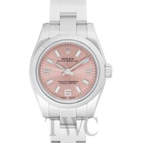 Rolex Oyster Perpetual 26 Staal 26mm Roze