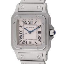 Cartier : Santos Galbee :  W20060D6 :  Stainless Steel