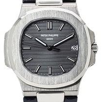 Patek Philippe 5711G-001 Ouro branco Nautilus 40.5mm