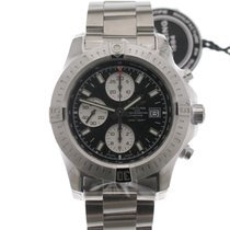 Breitling Colt Chronograph Automatic Acero 44mm Negro Sin cifras