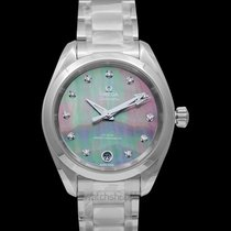 Omega Seamaster Aqua Terra Steel 34mm Mother of pearl United States of America, California, San Mateo