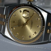 Rolex Datejust Oysterquartz Gold/Steel 36mm Champagne No numerals United States of America, New York, Greenvale