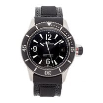 Jaeger-LeCoultre Master Compressor Diving Automatic Navy SEALs pre-owned 42mm Black Date Leather