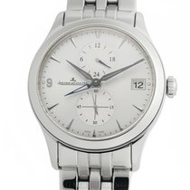 Jaeger-LeCoultre Master Hometime Steel 40mm Silver Arabic numerals United States of America, New York, New York