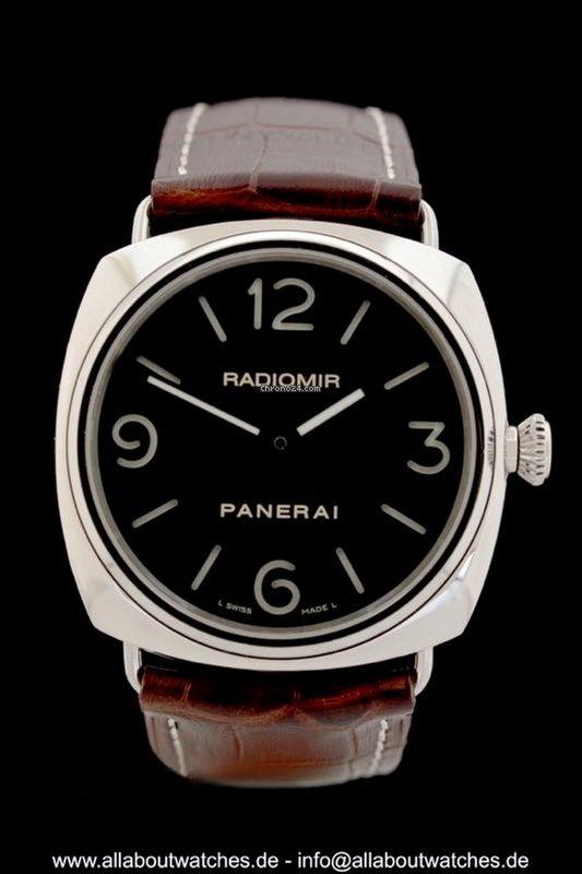 Panerai Radiomir Base Pam 00210 Panerai Reference Ref Id Pam 00210