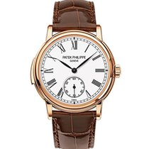 Patek Philippe Minute Repeater Rose gold 38mm White