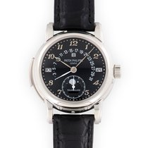 Patek Philippe Minute Repeater Perpetual Calendar Platinum 37mm Black