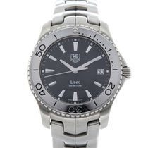 TAG Heuer Link Quartz Steel 39mm Black United Kingdom, Derby