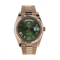 Rolex Day-Date 40 Rose gold 40mm Green