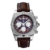 Breitling Chronomat 44 GMT Сталь 44mm Aрабские