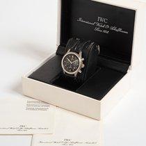 IWC Pilot Chronograph Steel 36mm Black Arabic numerals
