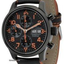 Zeno-Watch Basel NC Pilot 9557TVDD-bk-a15 nuevo