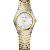 玉宝  Ebel Classic Gold Steel 27.3 mm Case, Mother Of Pearl Dial