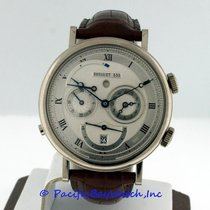 Breguet pre-owned Automatic 39mm Silver Sapphire crystal 3 ATM
