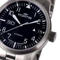 Fortis 700.10.81 M F-43 Flieger Big Day-Date 43 mm 20ATM