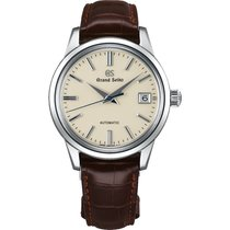 Seiko Automatic Brown Leather Strap Men's Watch SBGR261