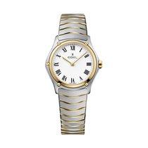 Ebel Sport Classic Lady29mm Bicolor Bracelet/Case White Dial