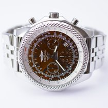 Breitling for Bentley Motors Chronograph Stainless Steel Watch
