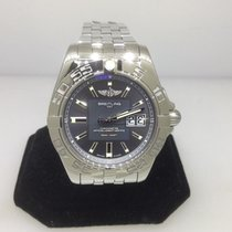 Breitling Galactic 41 Stainless Steel Automatic Men's Watch...