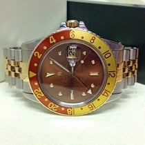 Rolex GMT-Master Root Beer Nipple Dial - Serviced by Rolex