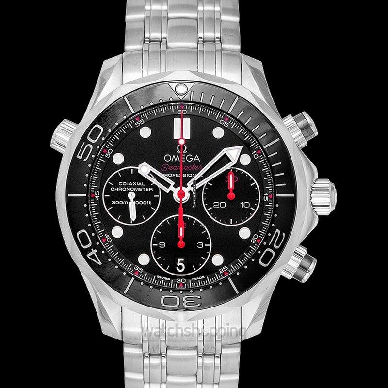 Omega Seamaster Diver 300m Black Steel 41 5mm 212 30 42 50 0
