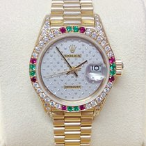 Rolex Lady-Datejust 69038SA Very good Yellow gold 26mm Automatic