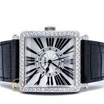Franck Muller 43mm Automatic 2013 pre-owned Master Square Silver