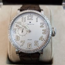 Zenith Pilot Type 20 Lady Steel 40mm White Arabic numerals