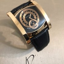Bulgari Rose gold Automatic Black pre-owned Assioma