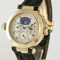 Cartier Pasha (Submodel) brukt 38mm Gult gull