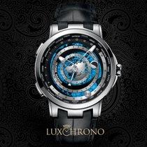 Ulysse Nardin Moonstruck Platinum 46mm Black No numerals