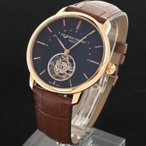 Frederique Constant 43mm Automatic 2013 new Manufacture Tourbillon Brown