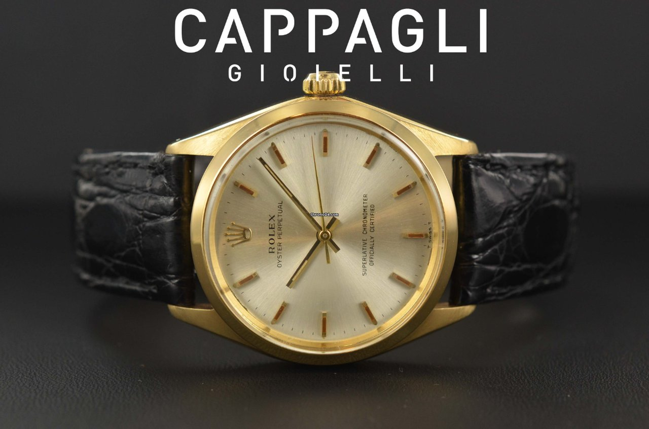 comprare on line 72337 3daa7 Rolex Oyster Perpetual 34 gold anno 1967
