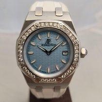 Audemars Piguet Royal Oak Lady pre-owned 33mm Blue Date Rubber