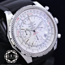 9be487432d7 Breitling Bentley Motors Special Edition White Dial A25362