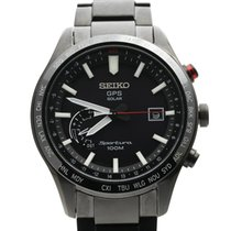 Seiko Sportura Steel 45mm Black