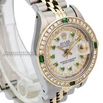 Rolex Lady-Datejust Gold/Steel 26mm No numerals