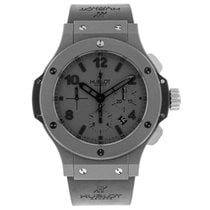 Hublot pre-owned Automatic 44.5mm Grey Sapphire Glass 10 ATM