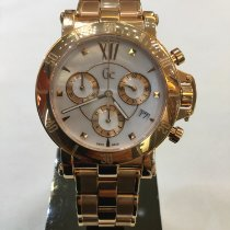 Guess Guld/Stål 42mm Kvarts GUESS COLLECTION X73008M1S ny