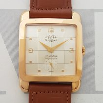 Enicar new Manual winding 29.8mm Gold/Steel