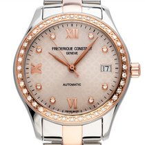 Frederique Constant Ladies Automatic Guld/Stål 36mm Grå